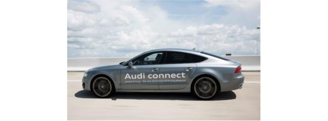 Trafik sıkışıksa, bırakın Audi'niz kullansın!