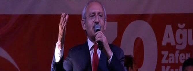 Kılıçdaroğlu: Eşkiya dünyaya hükümdar olmaz!